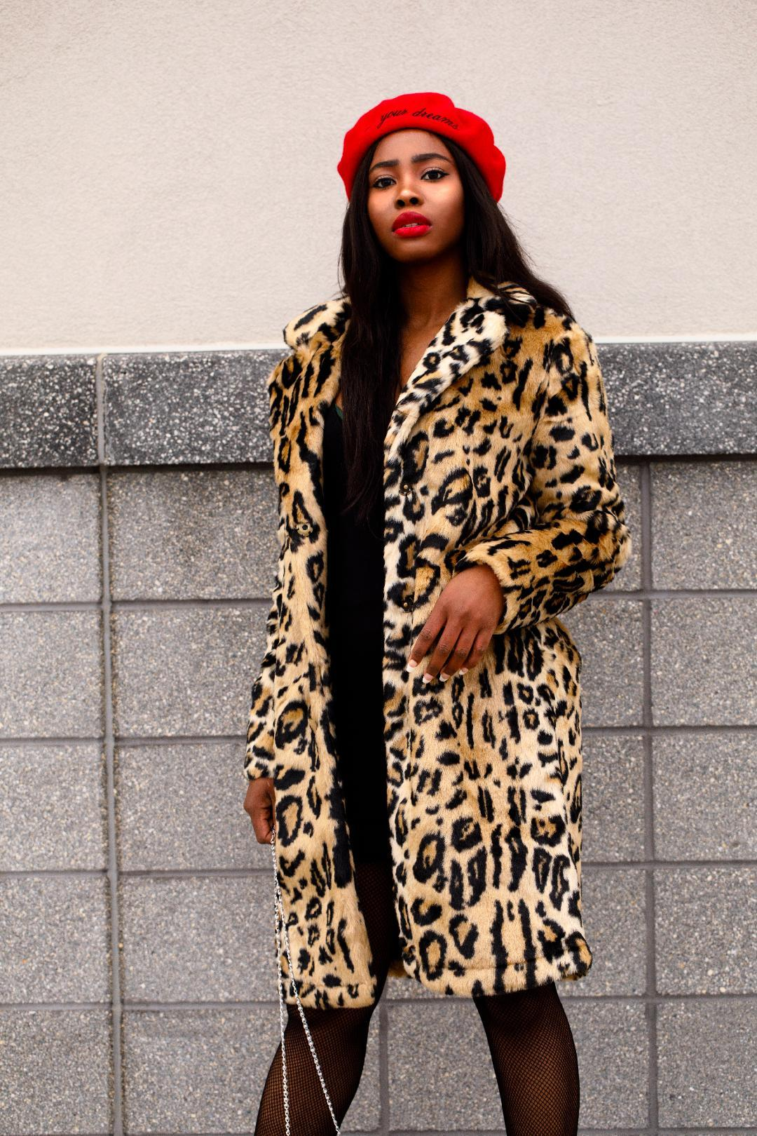 The Cheetah Print Coat